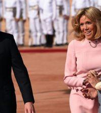 Inde, France, Emmanuel Macron