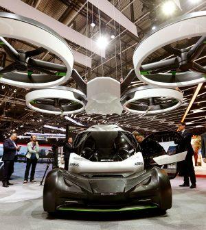 voiture volante, Uber, Airbus, Toyota