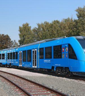 hydrogène, Alstom, train