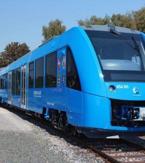 Train hydrogène, France
