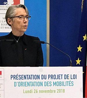 Loi Mobilité, Elisabeth Borne, France