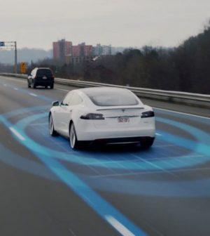 Tesla VTC autonomes
