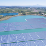 La France développe ses capacités de « solaire flottant »