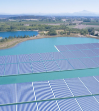 solaire flottant France