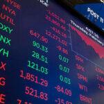 Les bourses mondiales en chute libre après l'annonce de la BCE